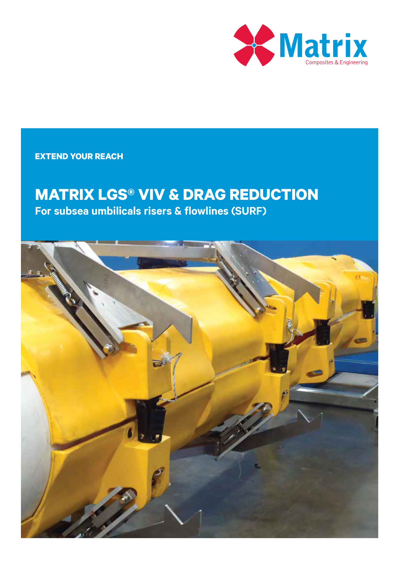 Matrix LGS® VIV & Drag Reduction for SURF